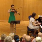 violin playing concert 2014