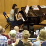 Piano playing concert 2014